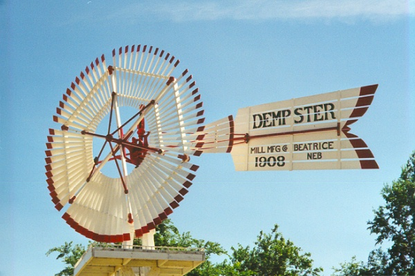 dempster mill wind vane